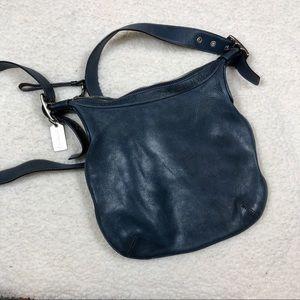 Coach Navy Blue Crossbody Bag